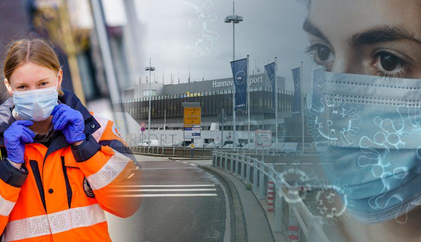 Köln Flughafen Corona Test