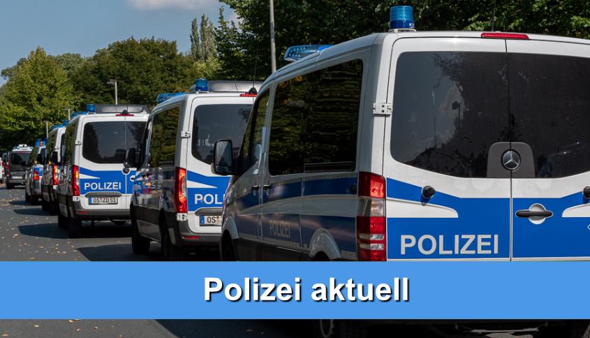 Polizei Mannschaftswagen