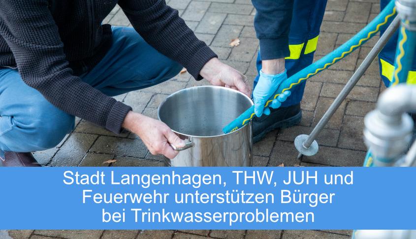Trinkwasser Unterstützung