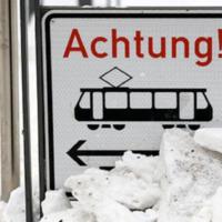 Winterschäden Stadtbahn