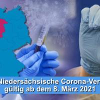 Corona Verordnung ab 080321