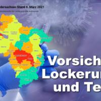 Lockerungen 8 März 1