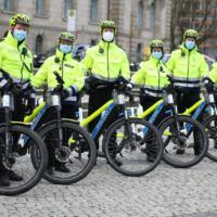 Polizeifahrradstreifen 1