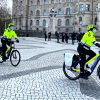 Polizeifahrradstreifen