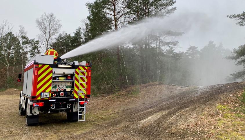 Waldbrandtanklöschfahrzeug