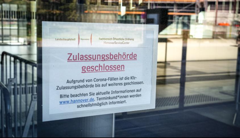 Zulassungsbehörde geschlossen