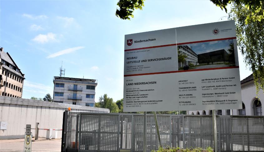 Neubau Leitstelle POL