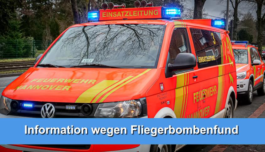 Fliegerbombenfund Information