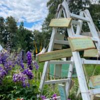 Gartenfestival Aufbau
