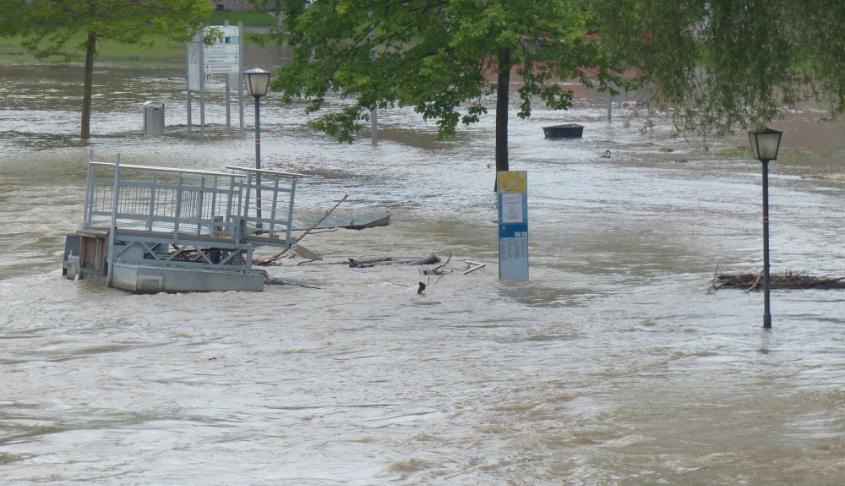 Überschwemmung Symbolbild