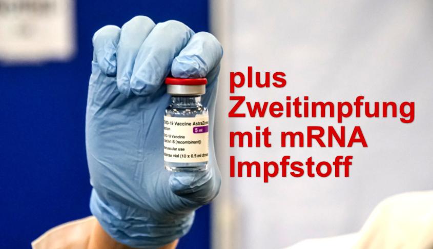 Zweitimpfung mRNA