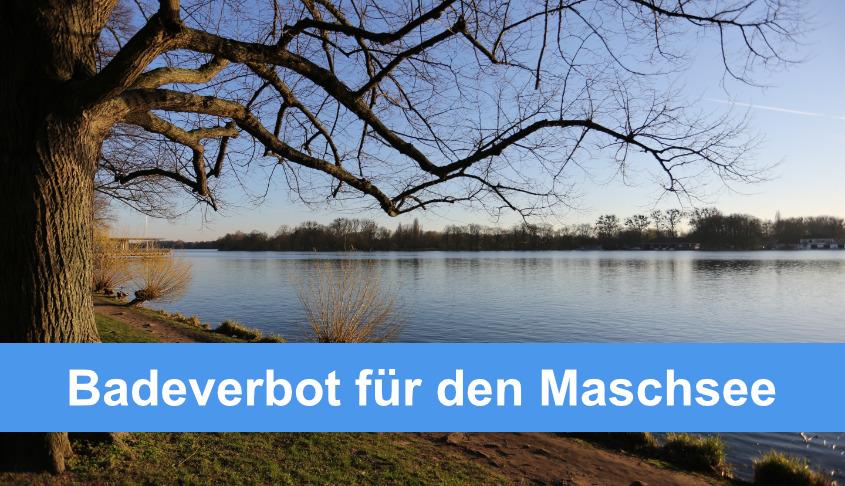 Badeverbot im Maschsee