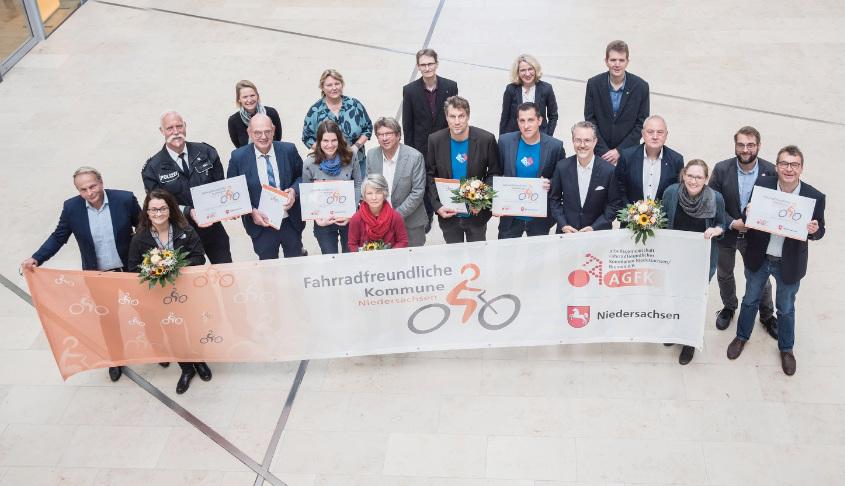 Fahrradfreundliche Kommune