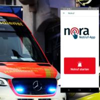 Notruf-App Nora gestartet
